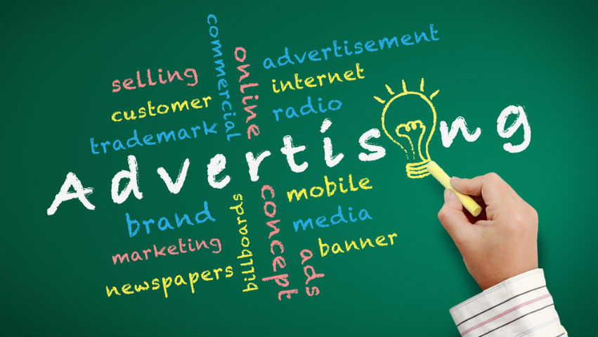 Advertising wordcloud | Cloud Surfing Media Digital Marketing